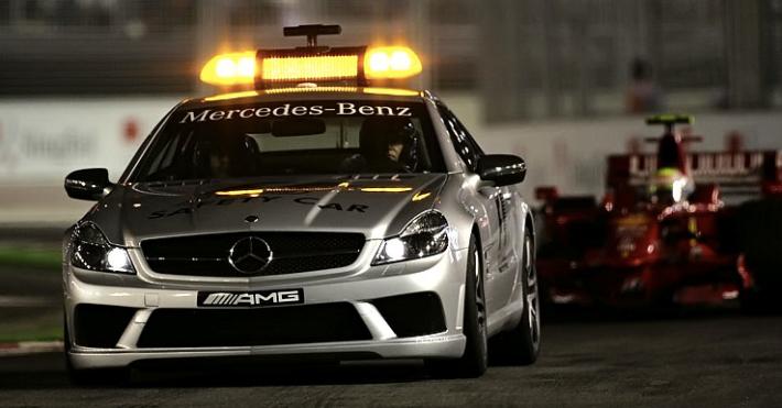 Safety Car - Singapore 2008