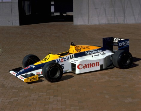 Canon brand last seen on the Williams FW10, now returning with Brawn GP